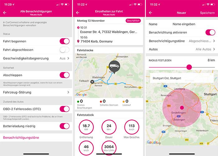 Carconnect Einstellungen Telekom