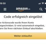 Gutschein Amazon