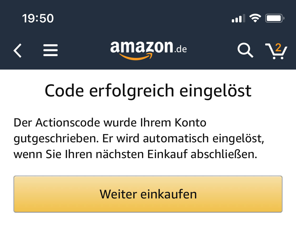 amazon 10 euro gutschein aktion
