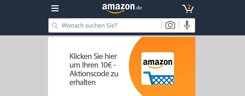 Für Den Ersten App Login Amazon Verschenkt 10 Euro Gutschein