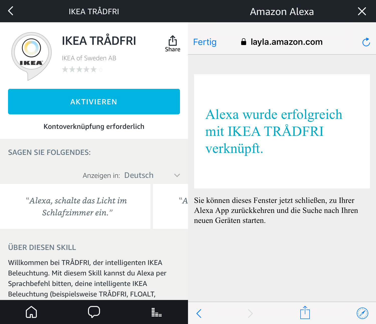 alexa skill und halbes homekit update verf gbar iphone. Black Bedroom Furniture Sets. Home Design Ideas
