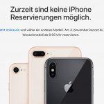 Iphone X Reservierung Ab 4 November