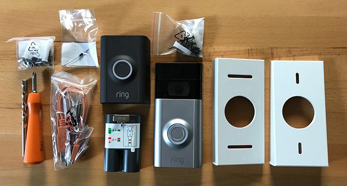 Lieferumfang Ring Doorbell 2