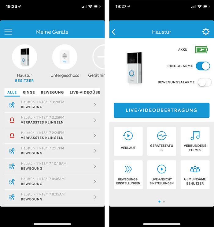 Ring Doorbell App Videos