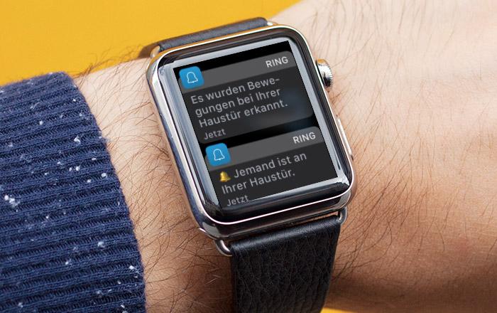 Ring Push Apple Watch