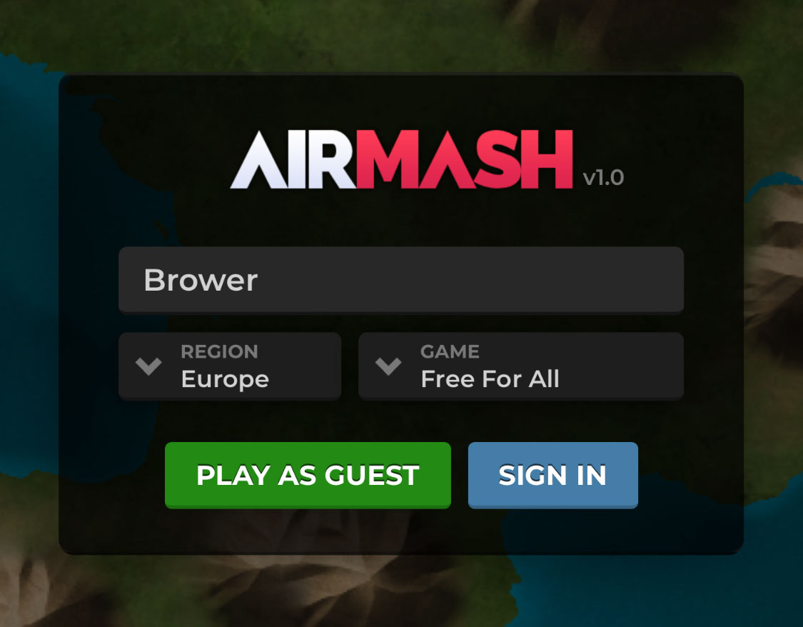 Airmesh Sign