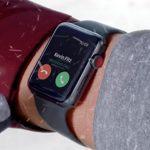 Apple Watch Im Schnee