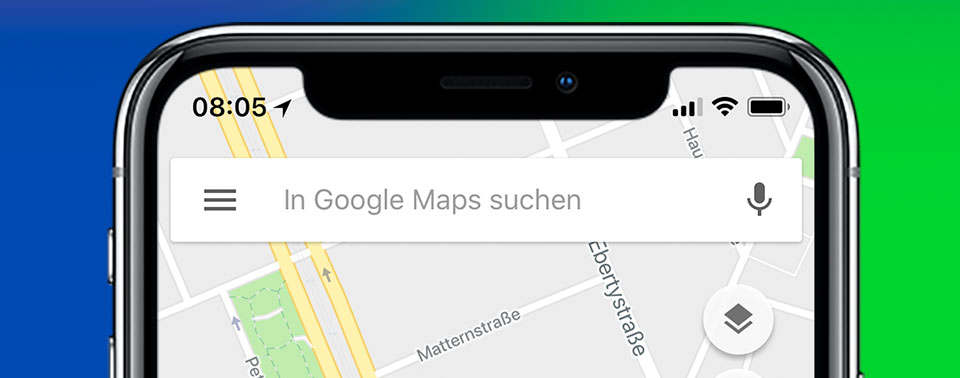 google maps app for iphone optimiert f 252 rs iphone x maps und blink ziehen nach 17002