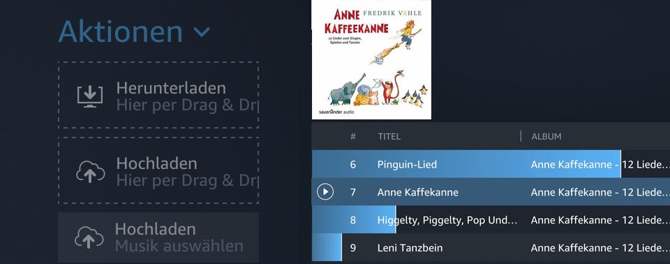 Zu Amazon Geladene Songs: Kunden Können Schonfrist