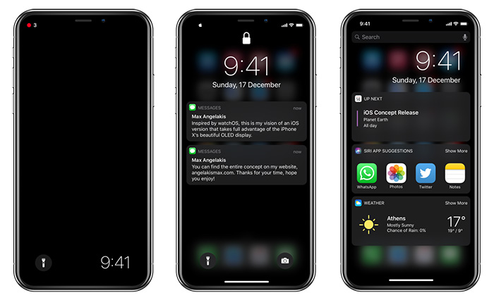 Ios Dark Mode Standby Screen