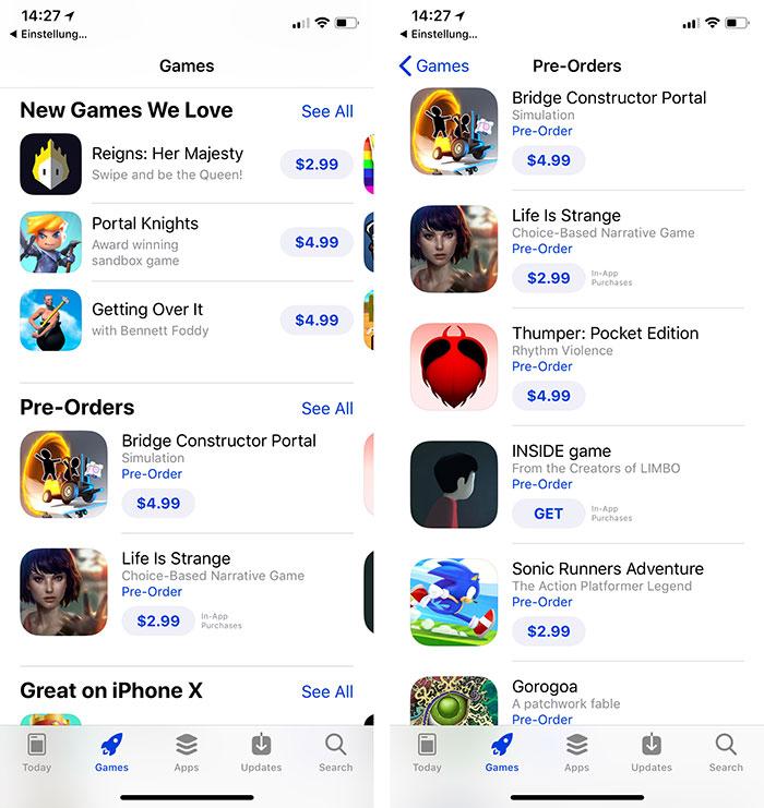 Ios Welche Apps Kann Man Vorbestellen