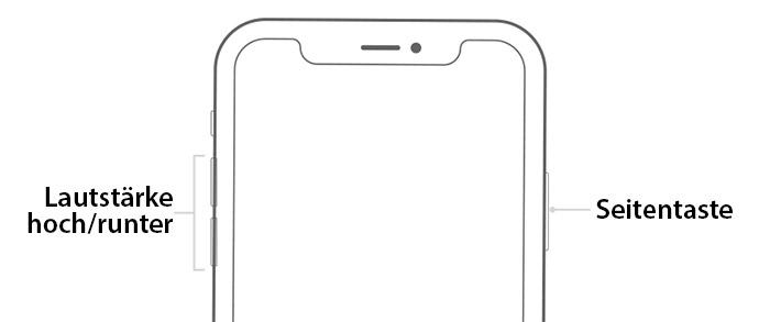 iphone neu starten geht nicht