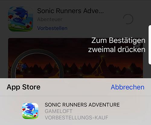 Os App Vorbestellen