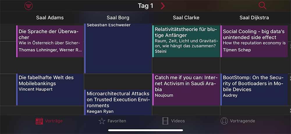 Stream Uebersicht 34c3