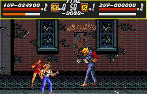 Streets Of Rage Sega