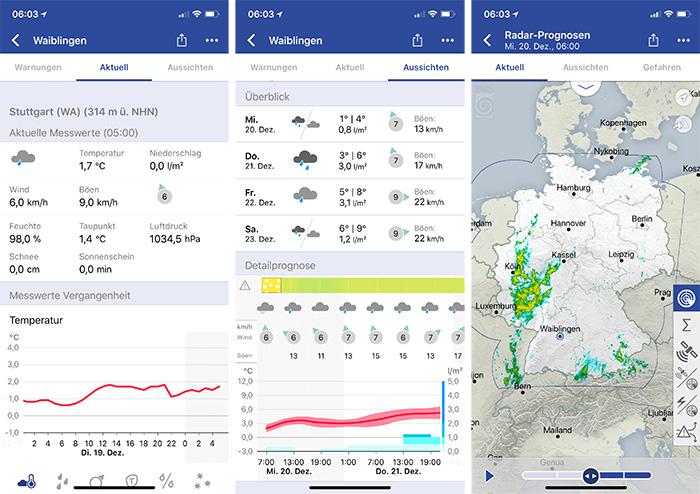 Warnwetter App Vollversion