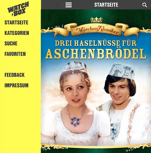 Watchbox Aschenputtel