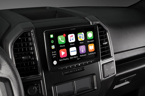 Alpine ILX F309 Carplay 9 Zoll
