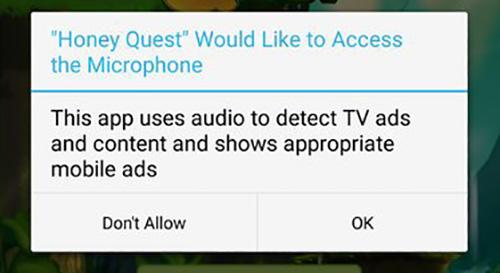 Android Spiel Mikrofon Zugriff