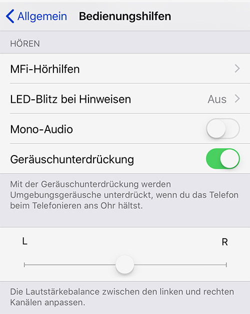 Iphone Bluetooth Ohrhoerer Balance