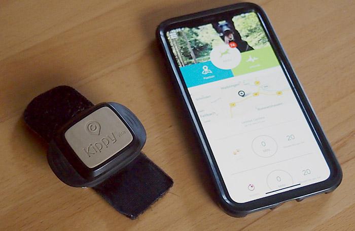 Kippy Vita Iphone Hunde Tracker