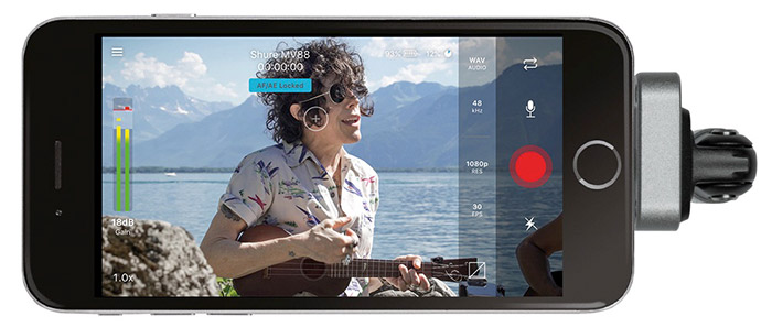 Shure Motiv Video App Iphone