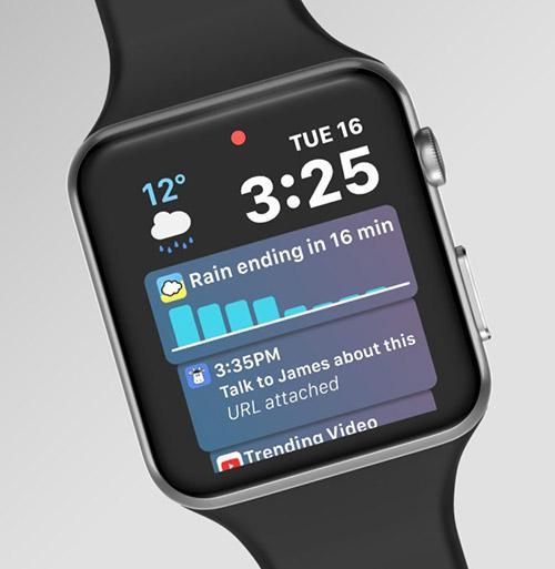 Watchos 5 Siri Mockup