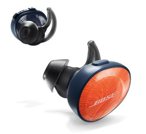 SoundSport Free Wireless Headphones Orange Blau