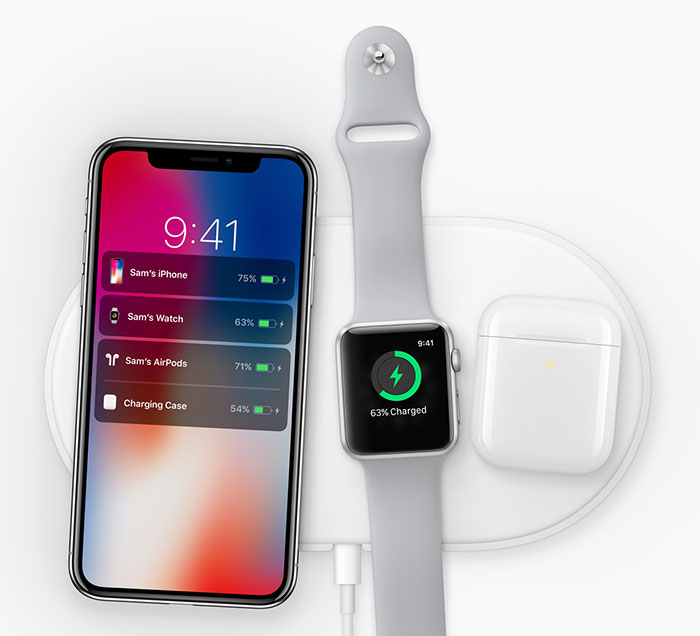 Apple Airpower Qi Ladestation