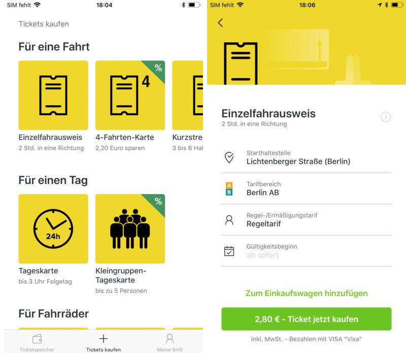 Bvg App Ticket