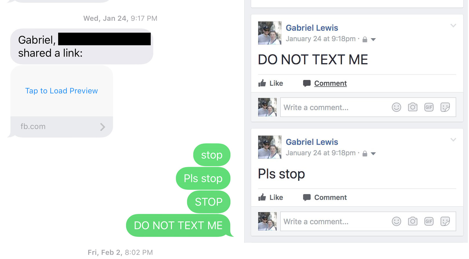 Do Not Text
