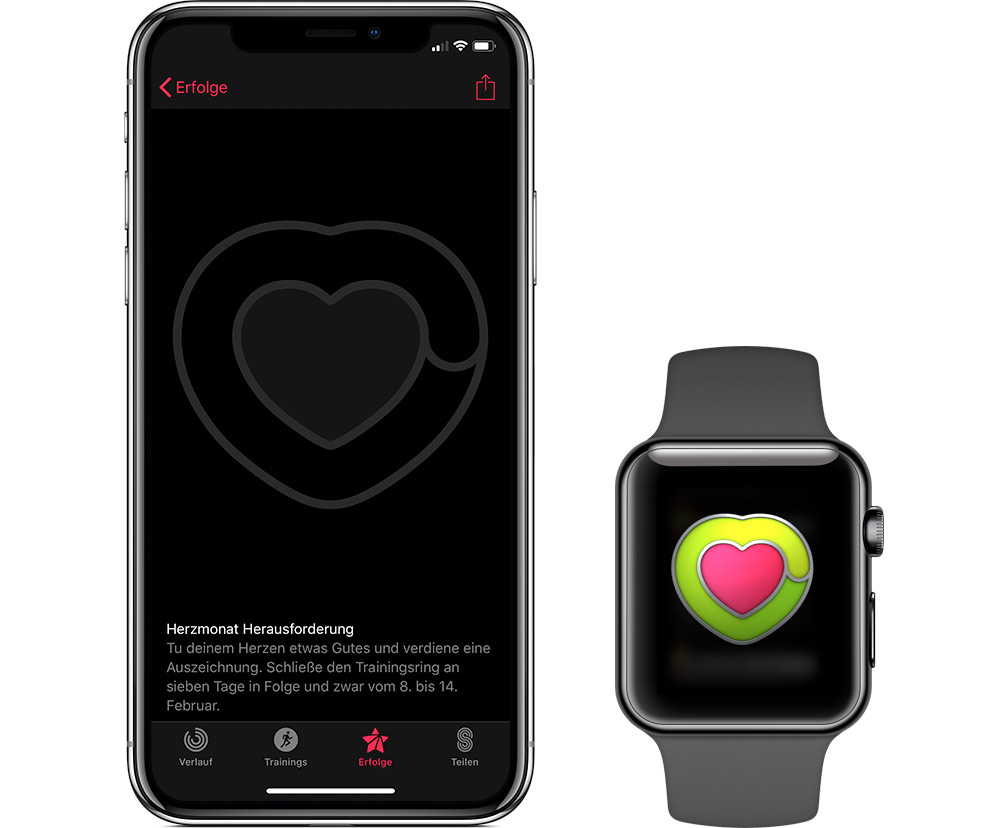 Herzmonat Apple Watch
