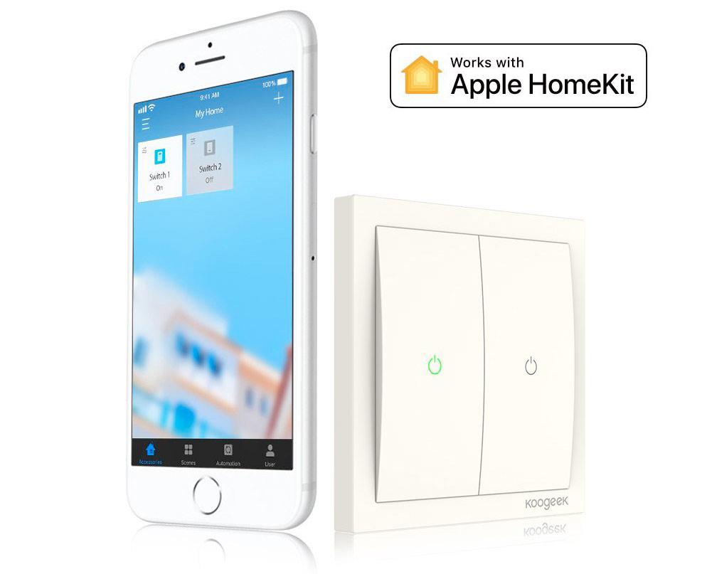 56% Preisnachlass: Die HomeKit-Lichtschalter von Koogeek › iphone ...