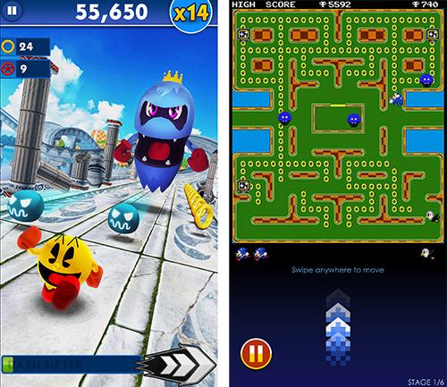 Sonic Dash Trifft Pac Man