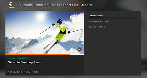 Eurosport Hd Zattoo