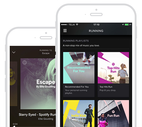 Spotify Running