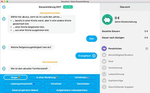 Steuerbot Mac App