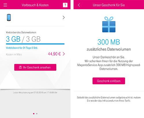 Telekom Wieder Datenvolumen Geschenk Fur Magentamobil Kunden