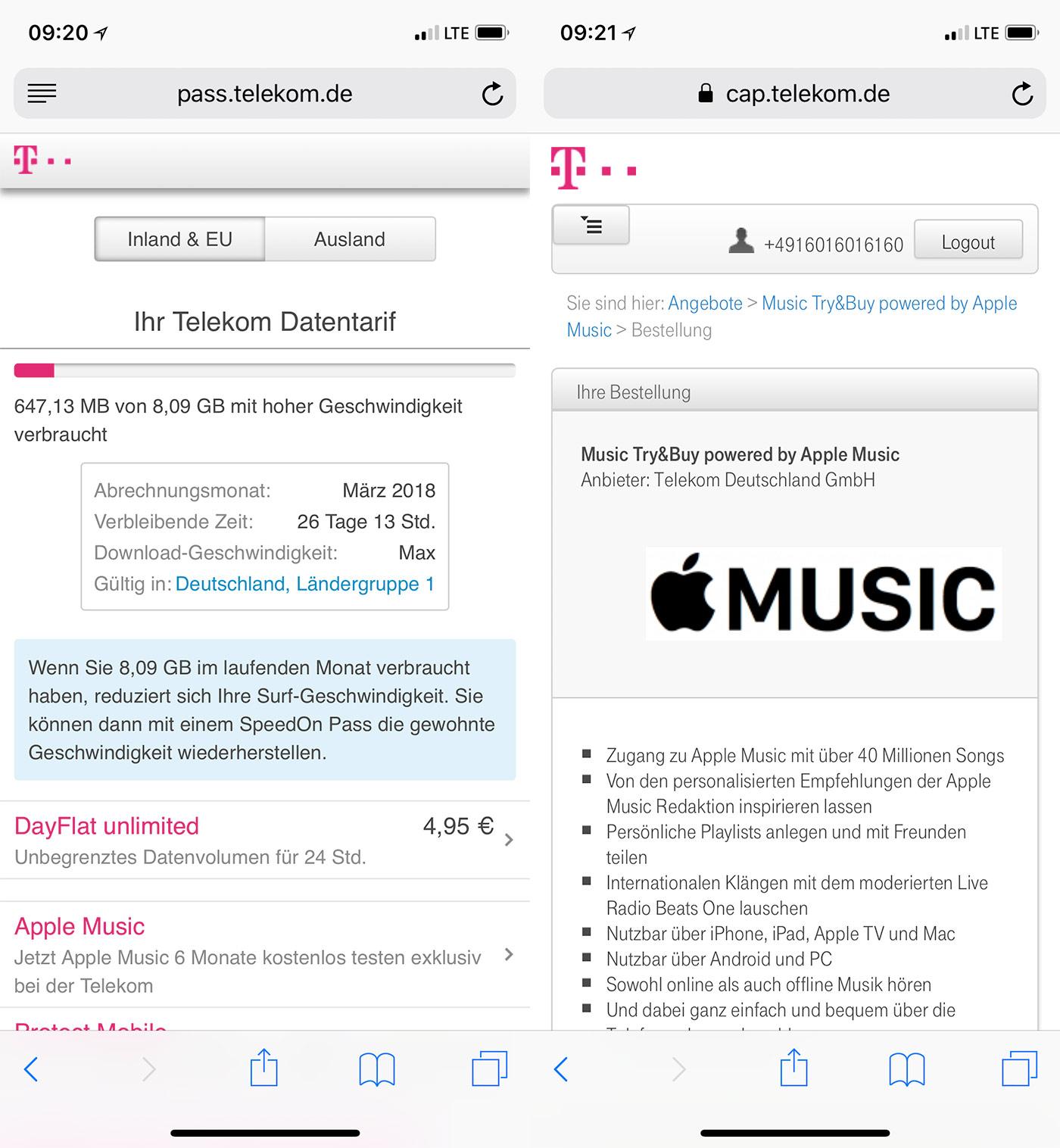 Telekom Portal