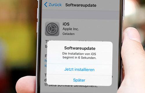 Update Ios Iphone