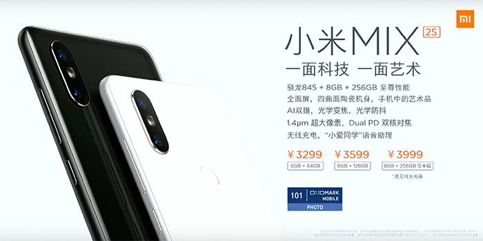 Xiaomi Mi Mix 2s Preise