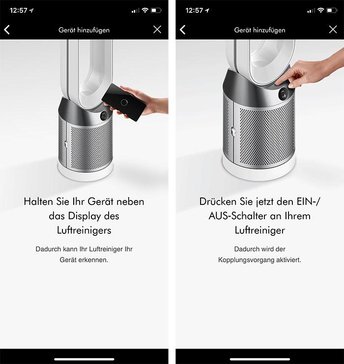 Dyson Pure Cool Iphone Einrichten