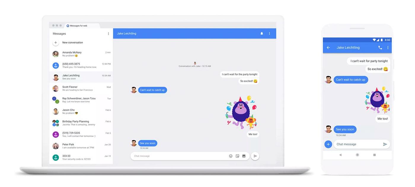 Google Messenger Chat