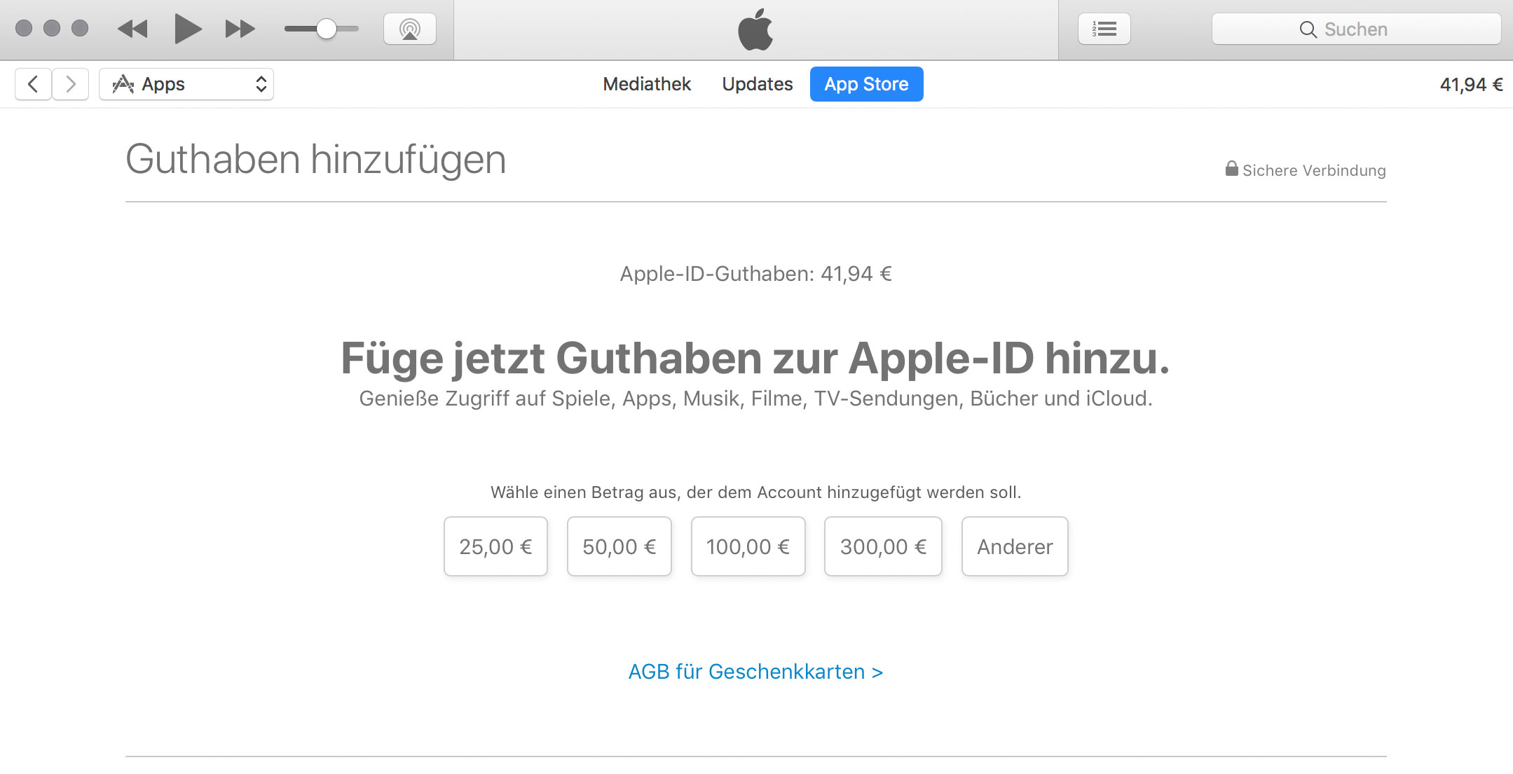 app store guthaben apple bietet neue schnell aufladung an. Black Bedroom Furniture Sets. Home Design Ideas