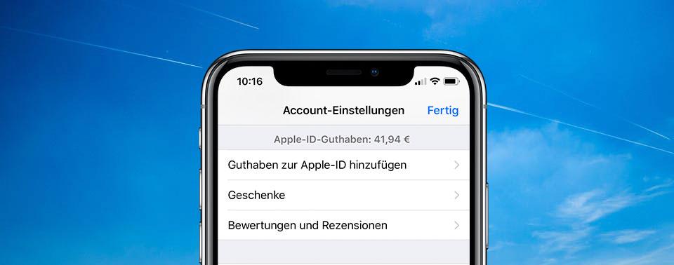 App Store Guthaben Aufladen Iphone