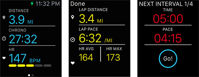 Ismoothrun Apple Watch App