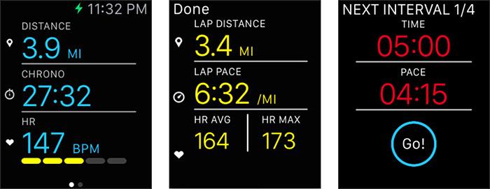 Ismoothrun Apple Watch App