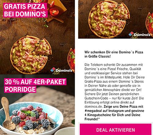 Dominos Pizza Kostenlos