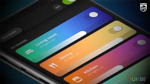Philips Hue App 3 0 Dashboard