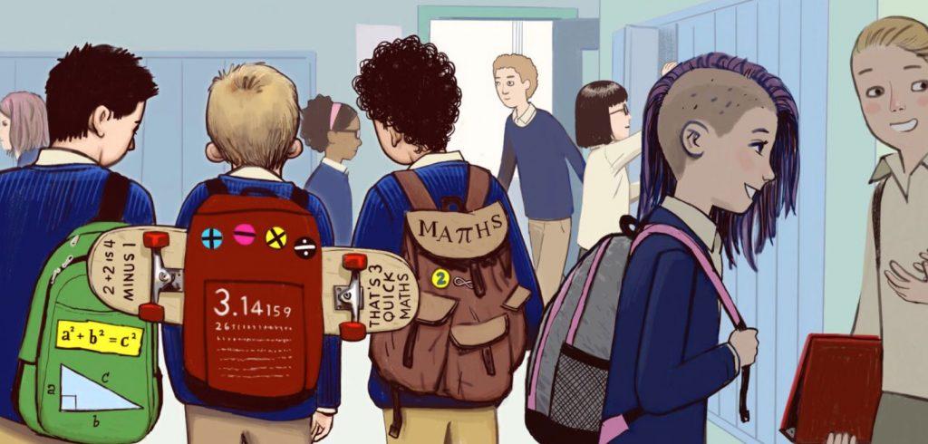 Schule Illu